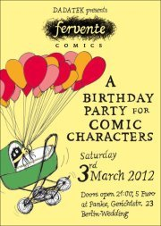 DADATEK PRESENTS FERVENTE COMICS – A BIRTHDAY PARTY FOR COMIC CHARACTERS