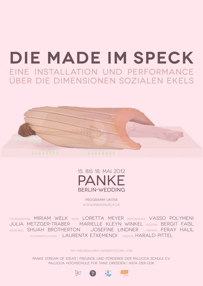 DIE MADE IM SPECK AN INSTALLTION AND PERFORMANCE PROJECT ABOUT THE DIMENSIONS OF SOCIAL DISGUST