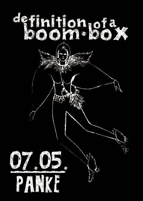 DEFINITION OF A BOOM BOX