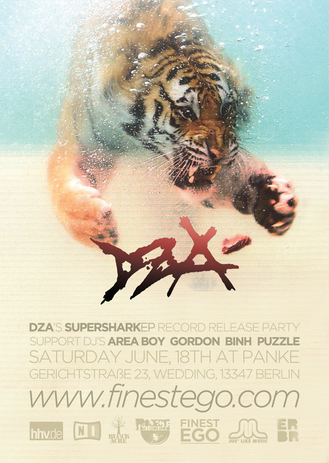 DZA'S SUPERSHARKEP RECORD RELEASE PARTY