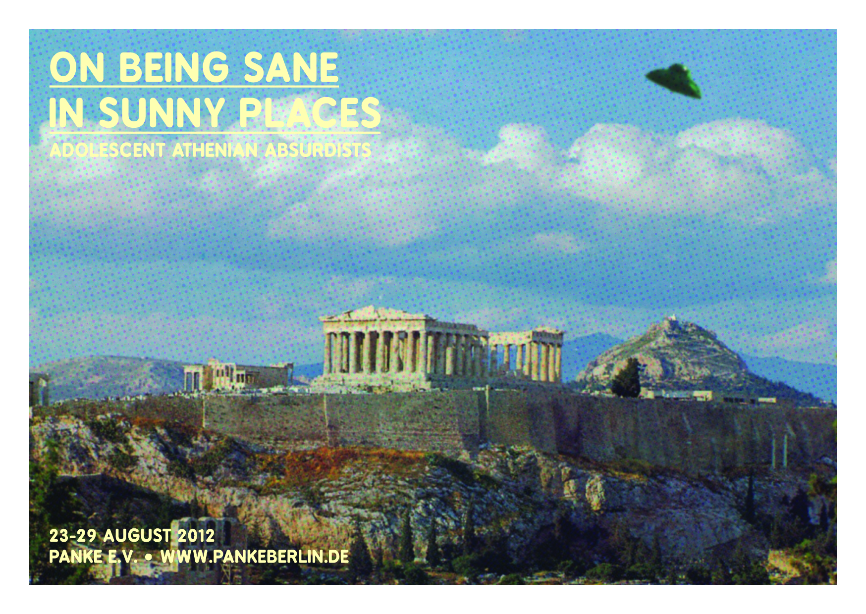 """""""On Being Sane in Sunny Places""""; Adolescent Athenian Absurdists"""