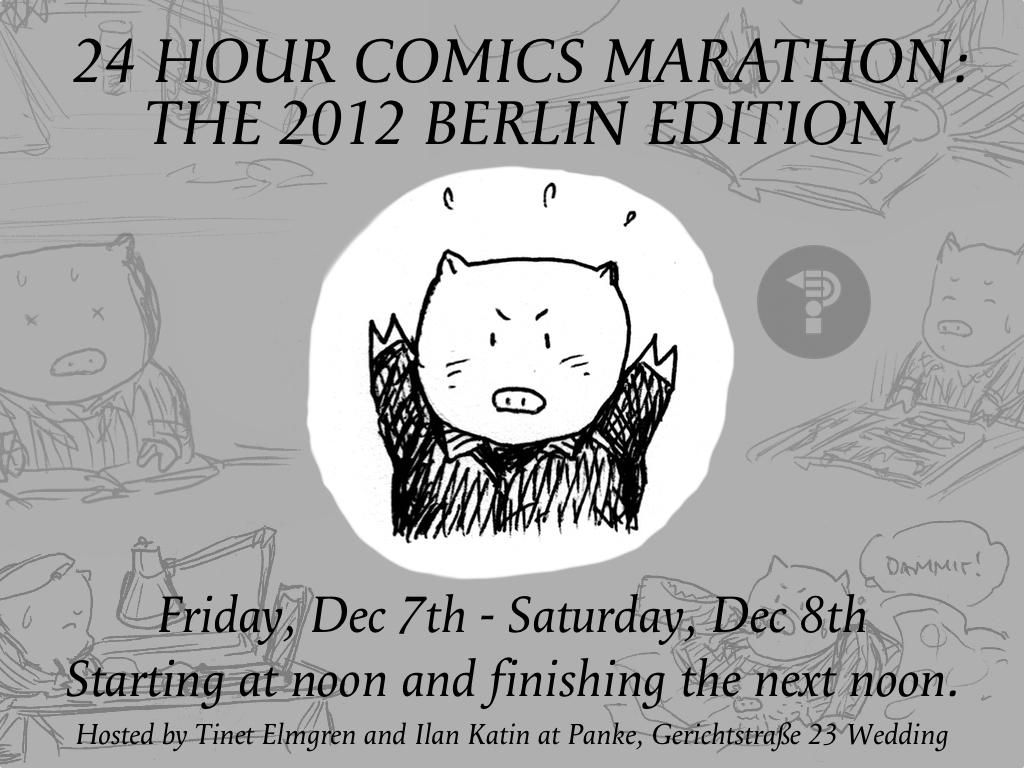 24-Stunden-Comic Berlin 2012