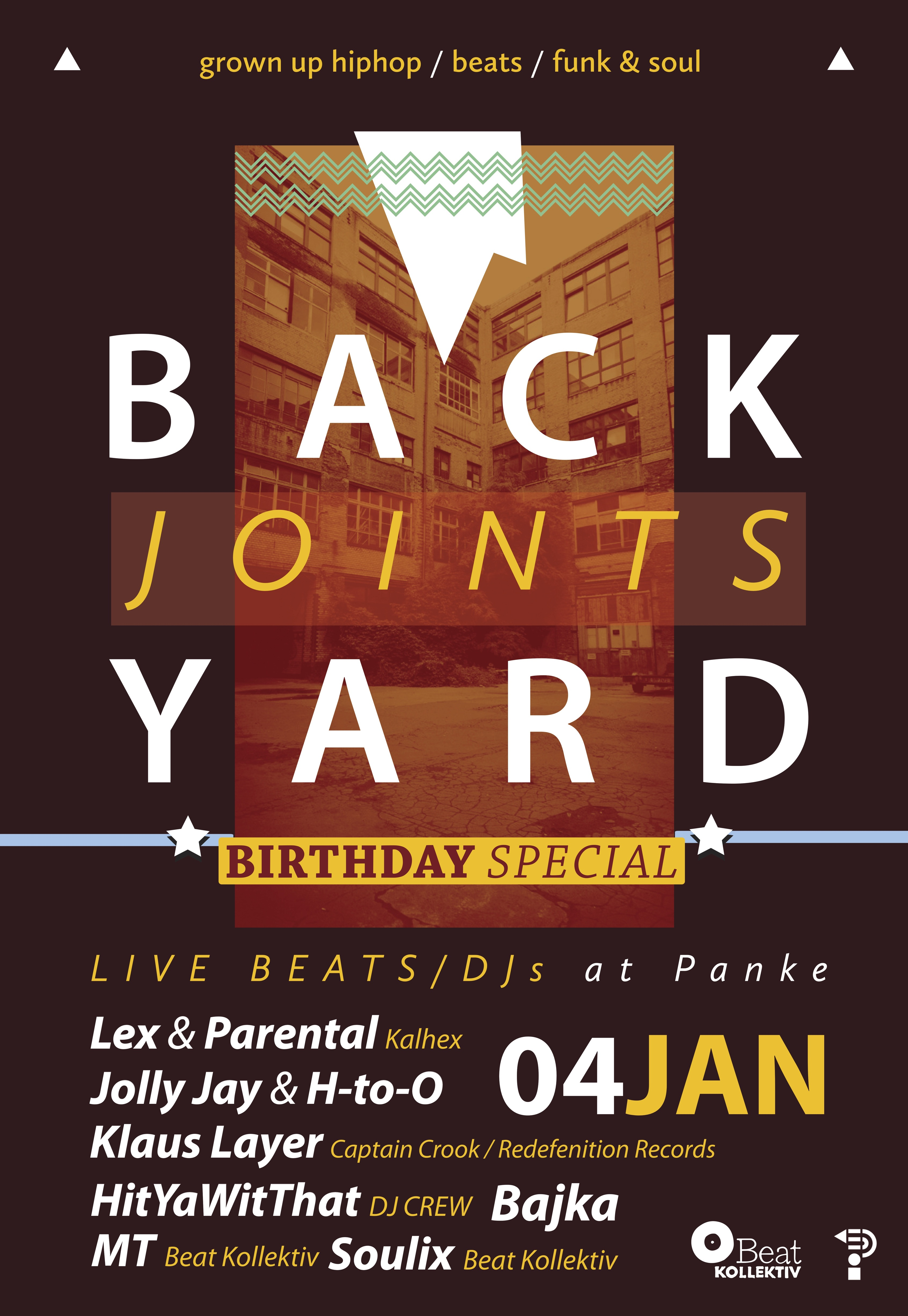 BACKYARD JOINTS – BIRTHDAY SPECIAL