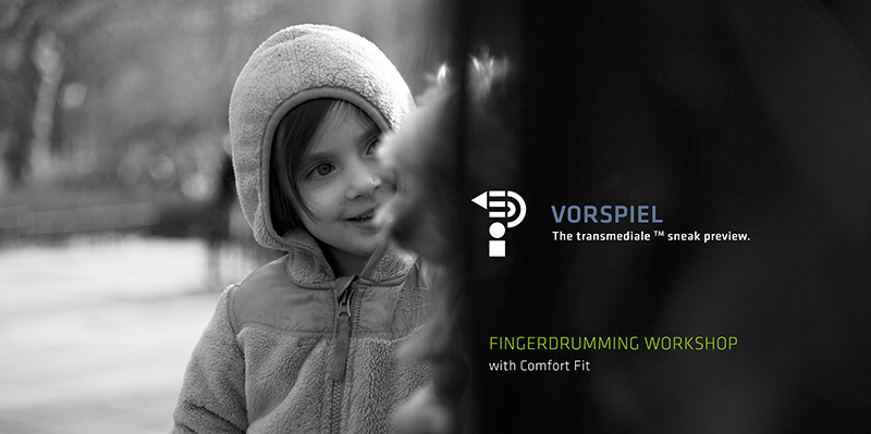 Vorspiel weekend: Fingerdrumming Workshop with Comfort Fit