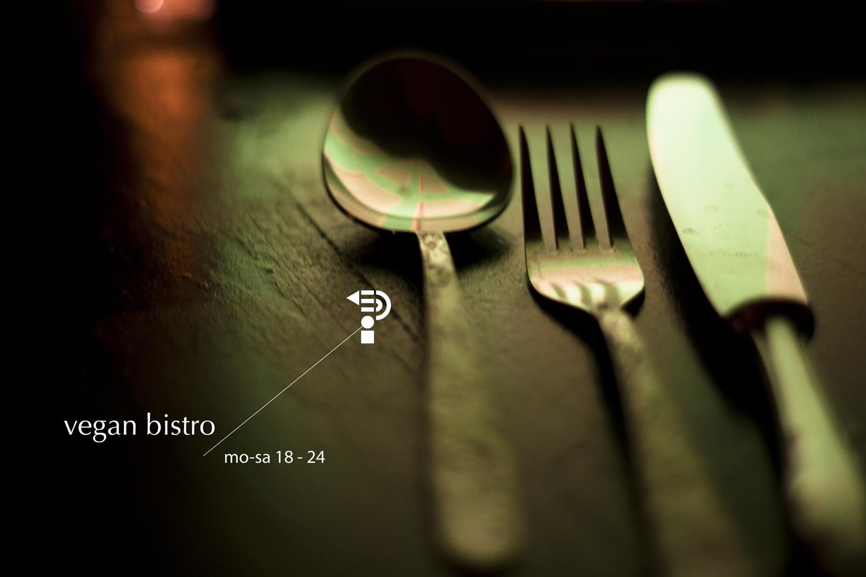 Vegan bistro menu of the week