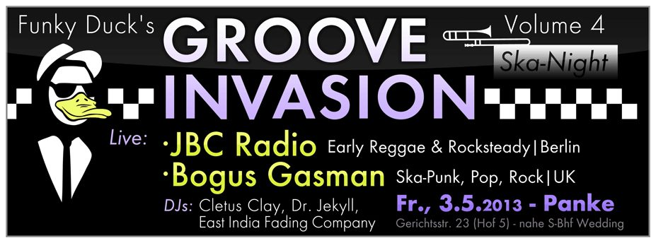 Funky Duck presents Groove Invasion 4 – SKA Special!