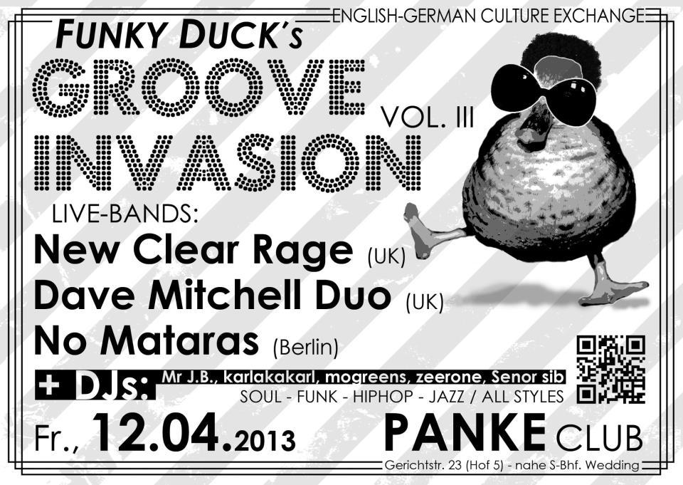 Funky Duck's groove invasion Vol III