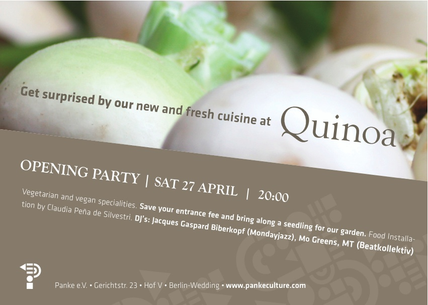 QUINOA Opening Party