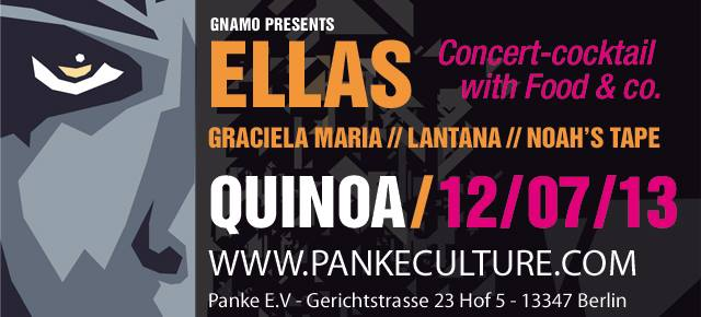 ELLAS, concert-cocktail with food & co
