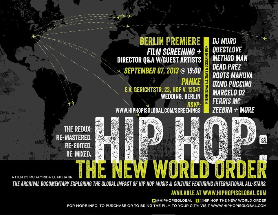 Hip Hop: The New World Order – Documentary Berlin Premiere