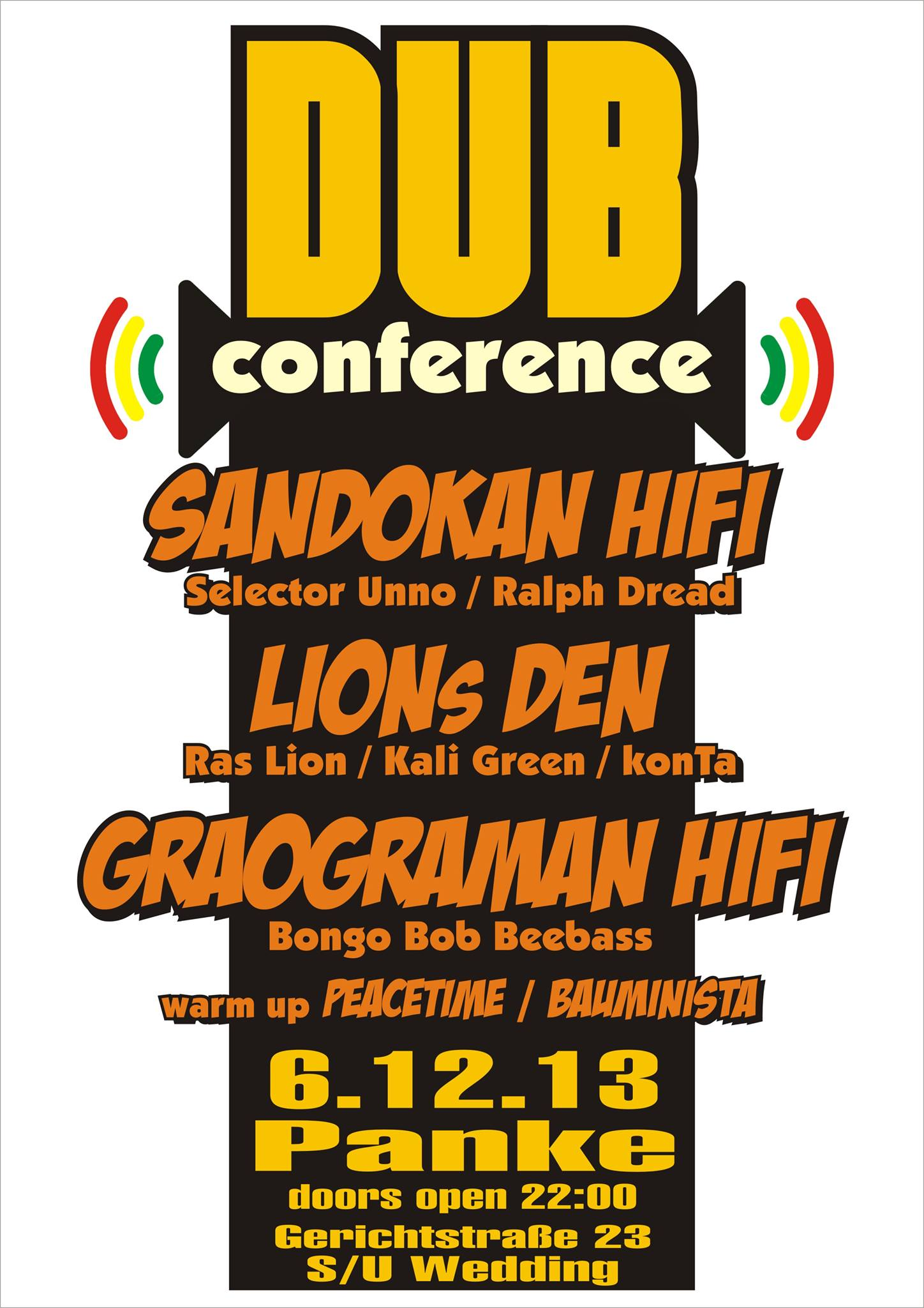 Dub Conference