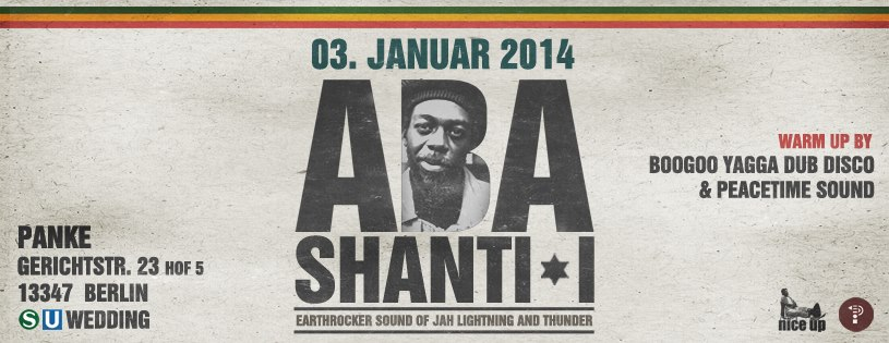 NiceUp presents ABA SHANTI-I