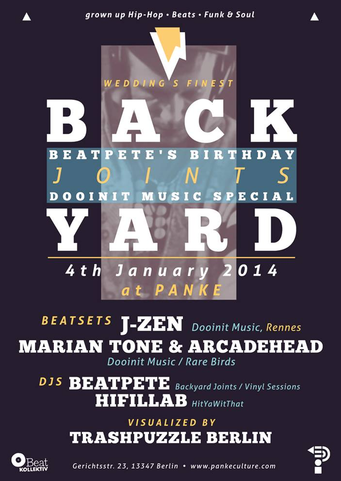BACKYARD JOINTS – Dooinit Music Label Night & Birthday Special