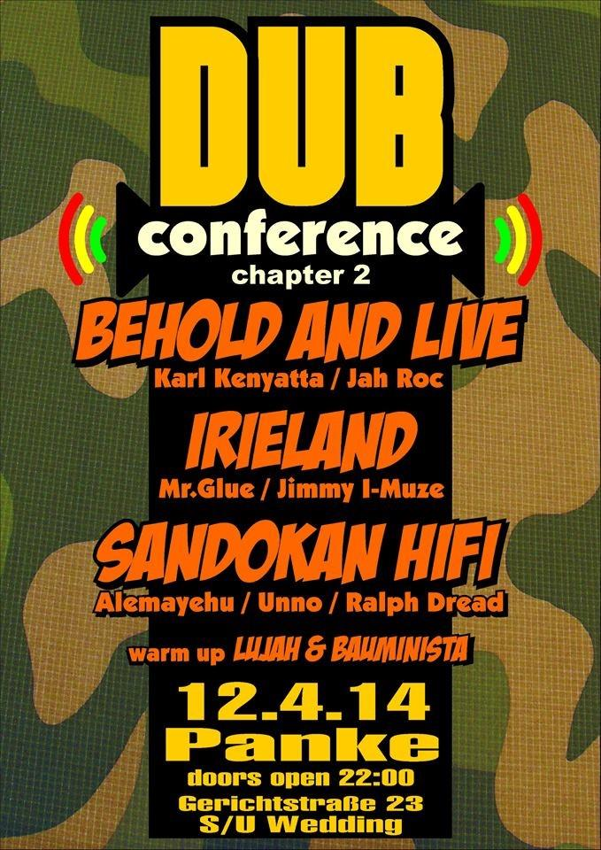 Dub Conference – Chapter II