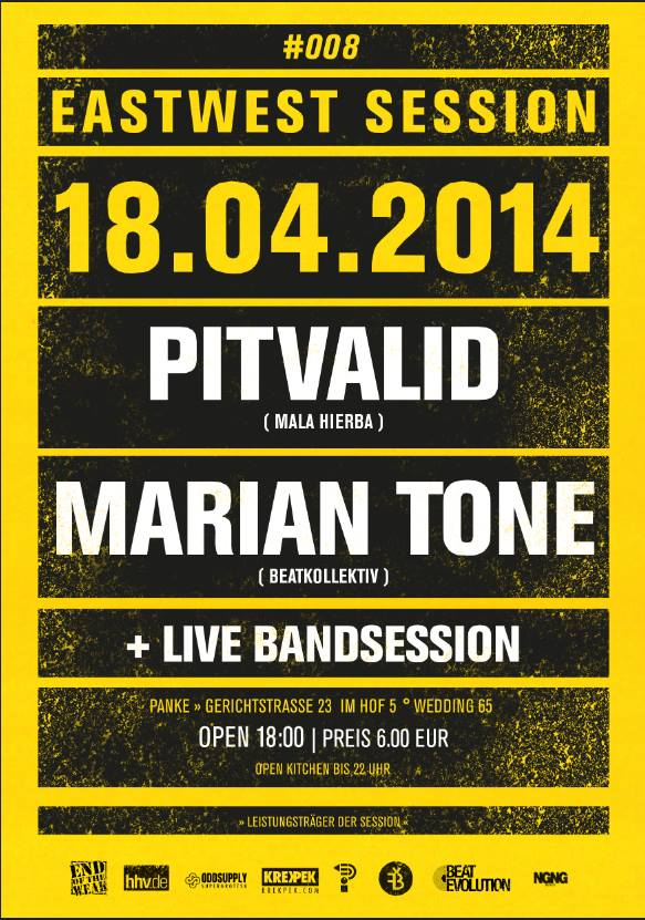 East-West Session #8 Pitvalid & Marian Tone