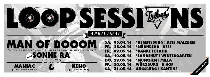 East-West Session #9 w/ Man Of Booom with Tribes Of Jizu Band & Sonne Ra