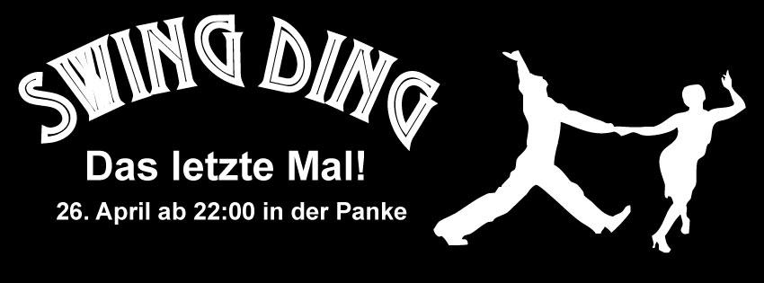 Swing Ding –> das letzte Mal!