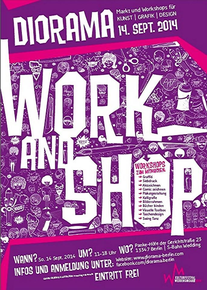DIORAMA MARKT & WORKSHOPS #3
