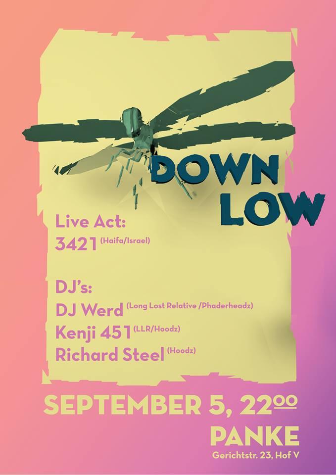 Down low featuring 3421 (Haifa/Isreal)