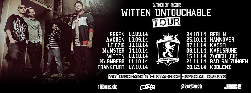 WITTEN UNTOUCHABLE, BERLIN 24.10.14 + SPECIAL GUESTS