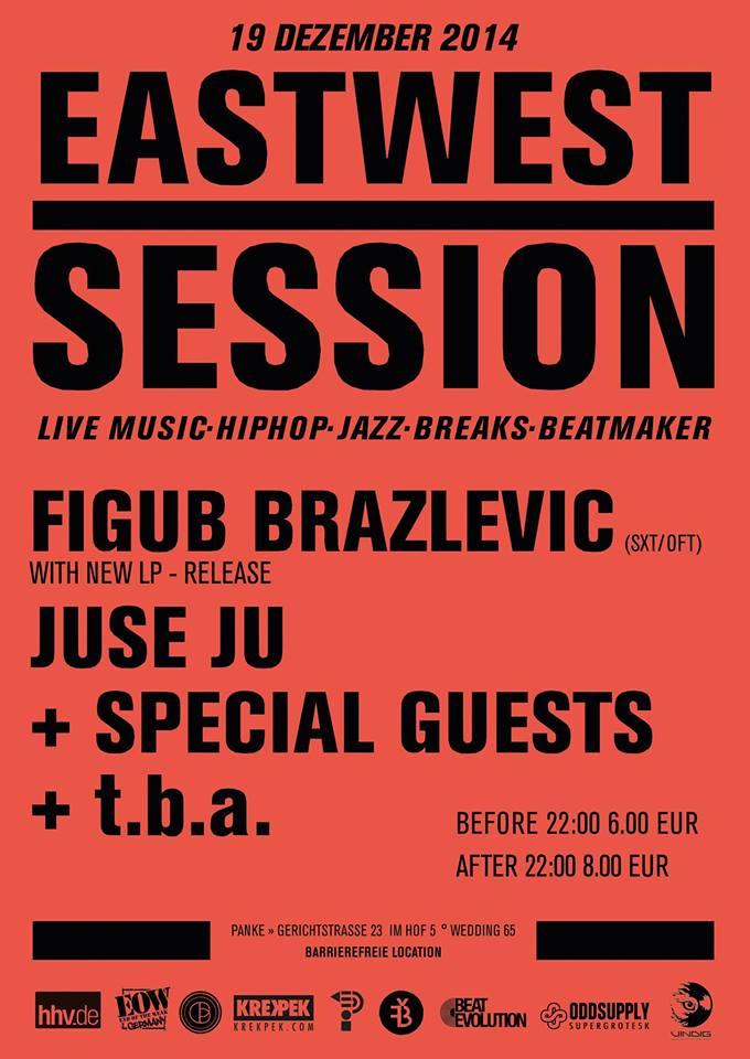 East-West Session #005 w/ Figub Brazlevic (New Release) & Juse Ju