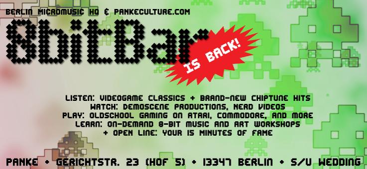 8bitBar meets Europe in 8 Bits
