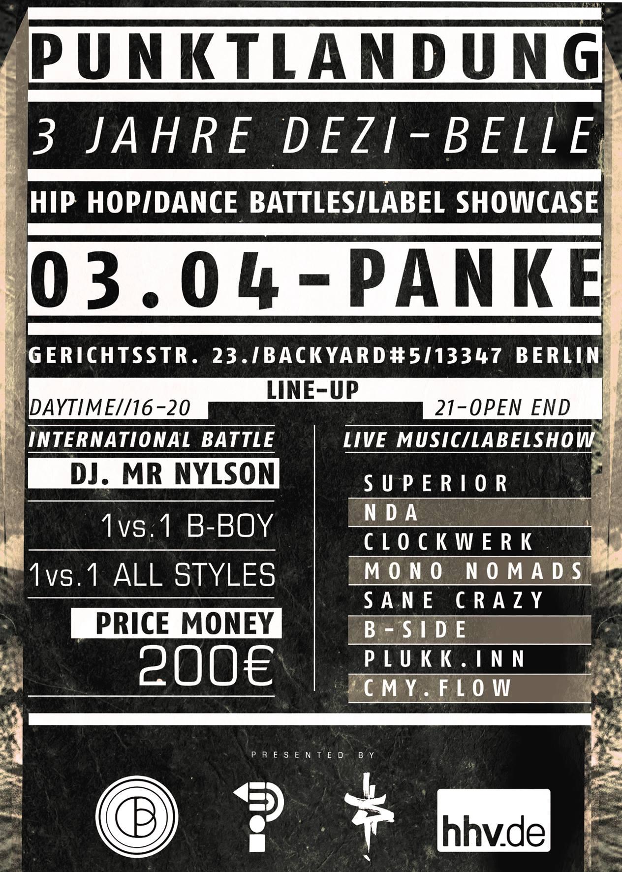 Punktlandung: 3 Jahre Dezi-Belle Records