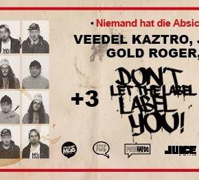 DLTLLY // Battles + Johnny Rakete, Gold Roger, Veedel Kaztro LIVE!