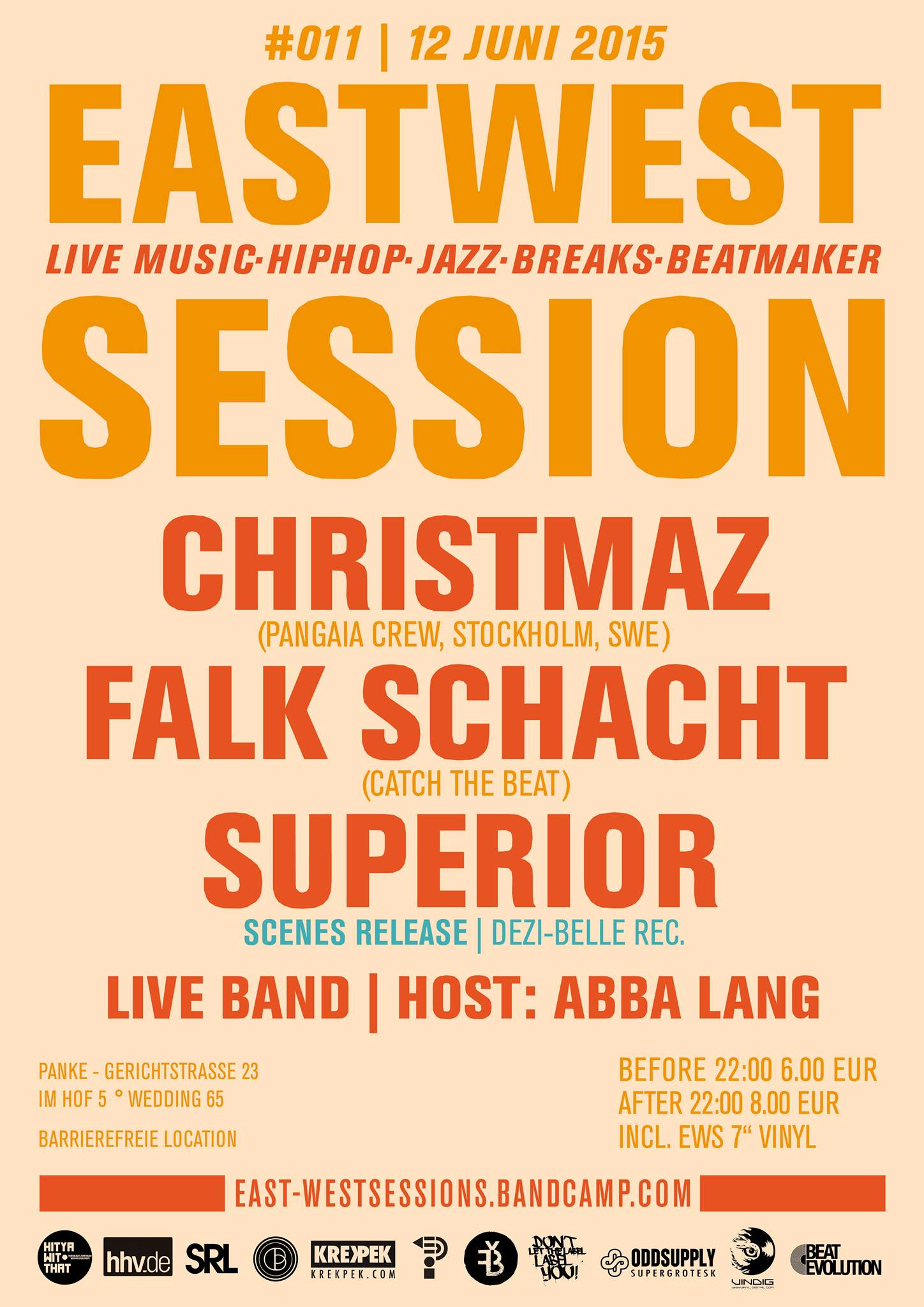 East-West Session #011 w/ Christmaz / Falk Schacht / Superior 'Scenes' Release