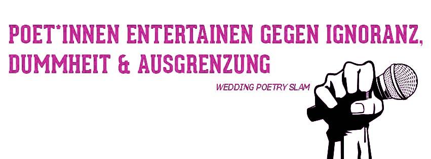 WeddingSlam #39 – Der nördlichste Poetry Slam Berlins