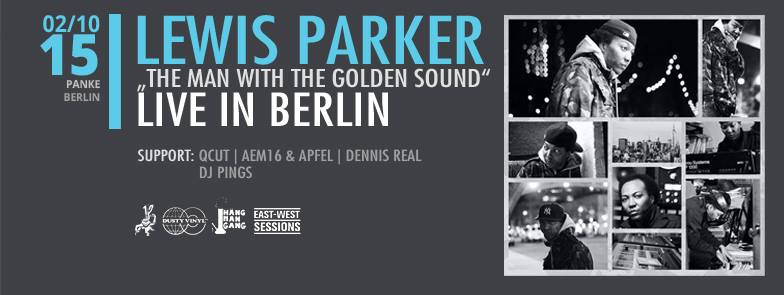"LEWIS PARKER – ""The man with the golden sound"""
