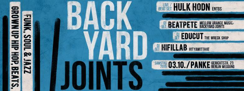 BACKYARD JOINTS Presents: HULK HODN & ULF UNTERGRUND