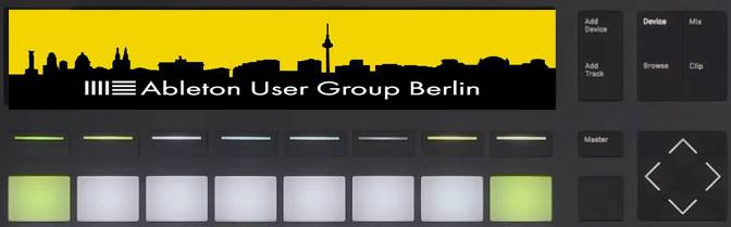 Party time @ Ableton User Group Berlin November Meeting
