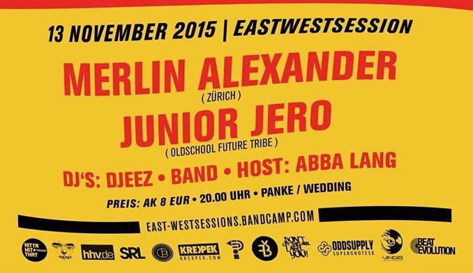East-West Session #014 w/ Merlin Alexander, Junior Jero & Djeez