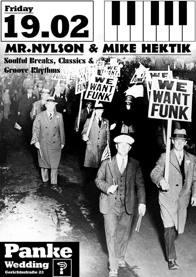 We Want Funk with Mr. Nylson and Mike Hektik
