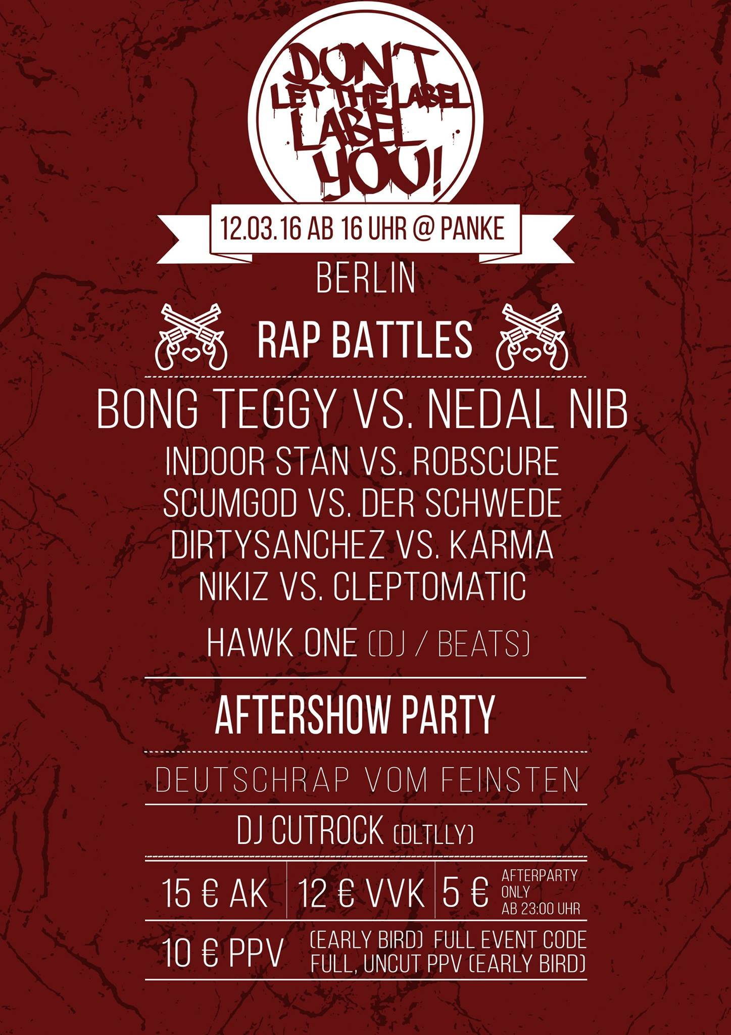 DLTLLY Live Battles + Afterparty