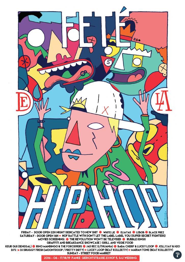 Fete de la Hip Hop at Panke