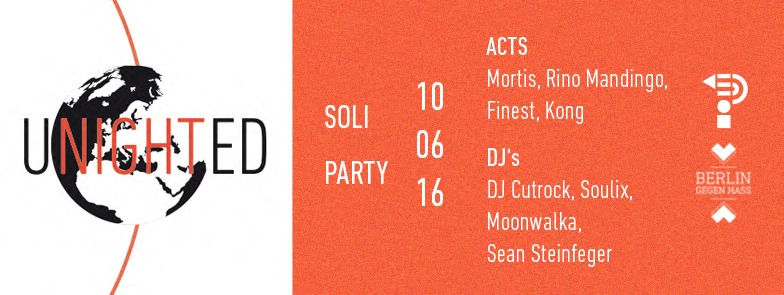 Unighted // Soli-Event at Panke // 10.06.16