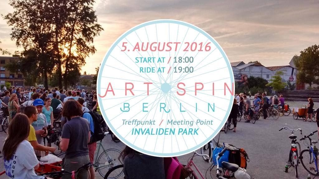 Art Spin Berlin 2016 at Panke