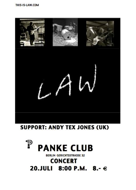 1st Berlin LIVE Show/Public Showcase This is LAW