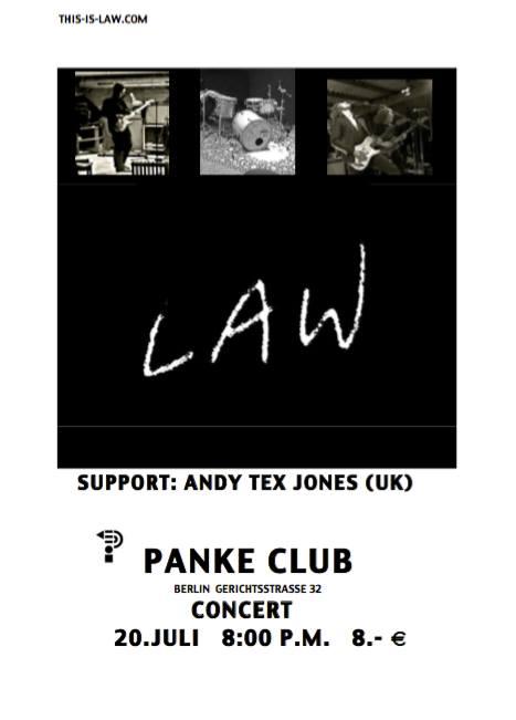 LAW concert at Panke July