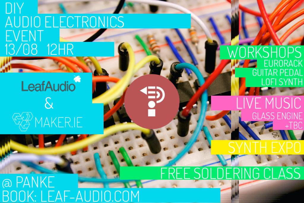 DIY Audio Electronics Event – Berlin | PANKE music • art • café