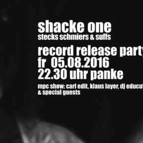 Shacke One Record Release Party