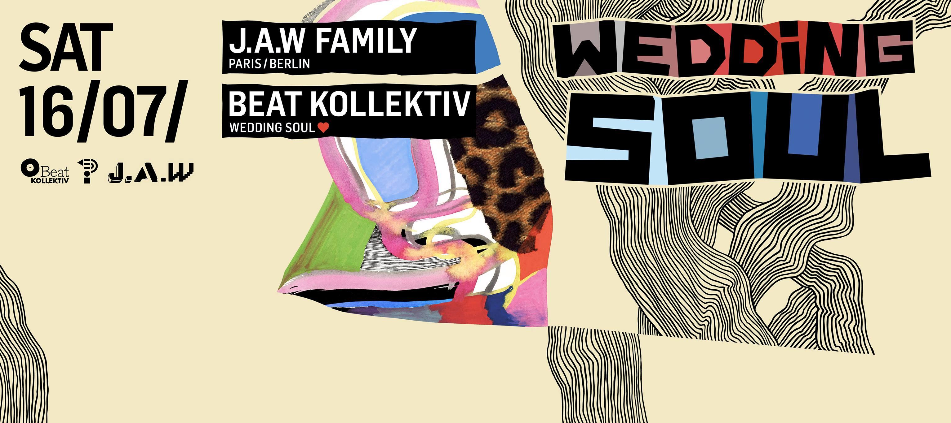 Wedding Soul 54 with Beat Kollektiv & J.A.W family