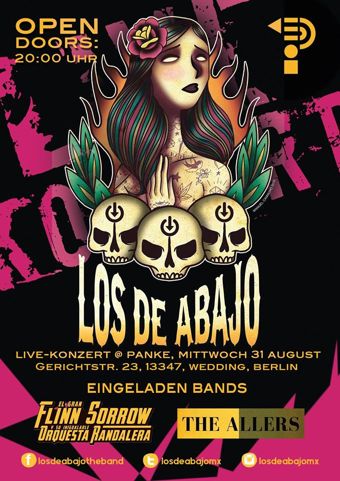 Los de Abajo + Special Guests LIVE