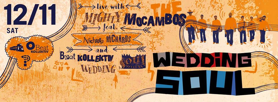 Wedding Soul 58 with Mighty Mocambos feat. Nichola Richards