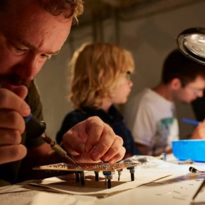 Synth DIY Workshop @Panke