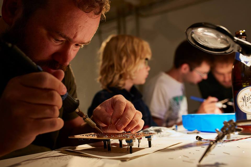 Synth DIY Workshop @Panke