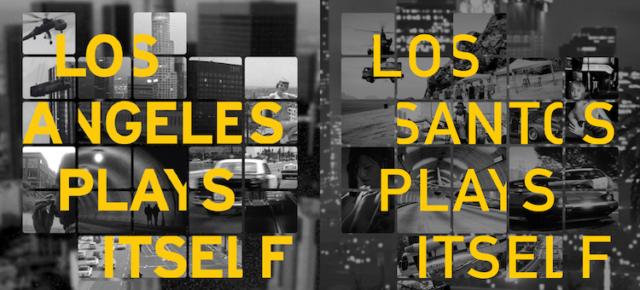 Los Santos Plays Itself. Performance by Sebastian Lütgert PART 1
