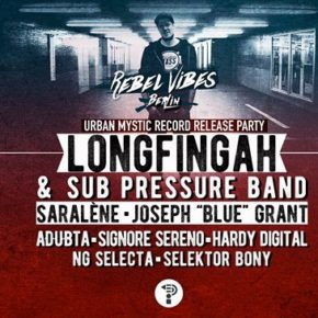 Longfingah - Record Release Party ✪ Rebel Vibes